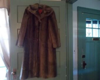 Vintage Faux Full length jacket
