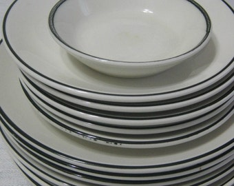 Homer Laughlin China - Best China  - Lot of 12 - Vintage Dinnerware - Vintage Tableware - Mid-Century