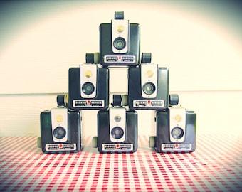 Vintage [Lot or Indv.] 1950-61 Kodak Brownie Hawkeye Cameras...