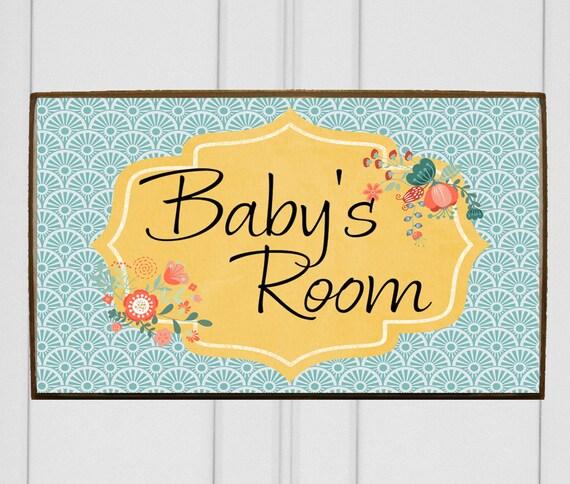 Like this item. Kids room door sign for kid s door  Baby nursery decor