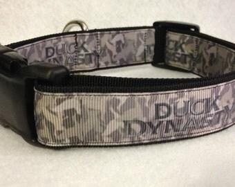 Camo Duck Dynasty Dog Collar