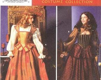 Simplicity 9256 Misses' Elizabethan Costume Pattern