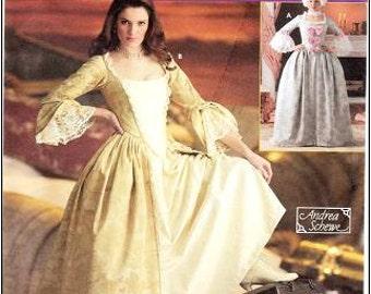 Simplicity 4092 Misses' 18th Century Costume Pattern