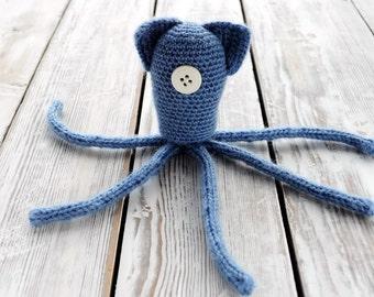 Octopus Coraline (crochet amigurumi)