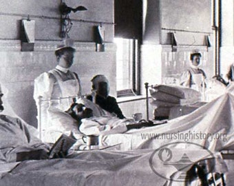 Museum of Nursing History:  Nurses and Patients  Image #56