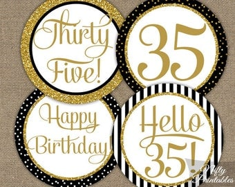 35th birthday party etsy for 35th birthday decoration ideas
