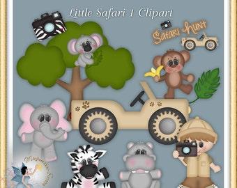 Little Safari 1 Clipart