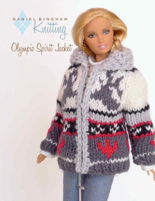 Knitting Patterns For Barbie Dolls : Knitting pattern for 11 1/2 doll Barbie: Olympic