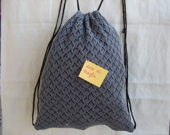donna cotton backpack