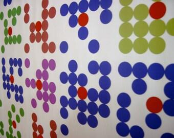"Math Art Digital Print - ""bingo caRds"""
