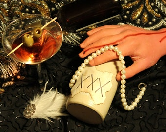 1920s Speakeasy Murder Mystery Party Kit - Instantly Downloadable PDF!