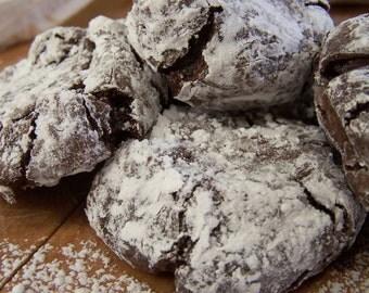 GLUTEN FREE Delirious Crinkle Cookies - 1dz
