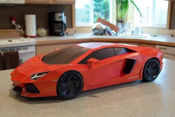 Papercraft Car Lamborghini Lamborghini ha Papercraft