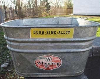 Galvanized Wash Tubs