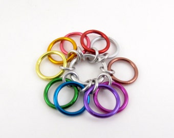 Big Rainbow Row Counter - 10 Rings