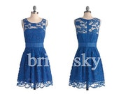 Short Lace Prom Dresses Party Dresses Homecoming Dresses 2014 Formal Party Evening Dresses