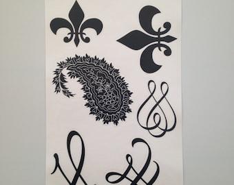 Flourishes and Paisleys Style 2