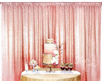 Sequin Backdrop MADE TO ORDER, 45 colors Sequin Backdrop for Photo Booth, Wedding Head table Bridal Baby Shower Party Dessert Backdrop Decor