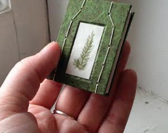 Miniature Foliage Book