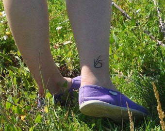 Pack of 6 V.F.D A series of Unfortunate Events Eye Temporary Transfer Tattoos