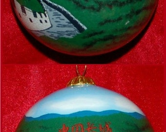 Great Wall of China Christmas Ornament GOR104