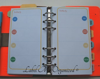 Perpetual Daily Planner - Personal Sized