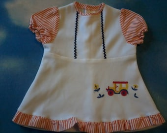 Vintage embroidered baby dress