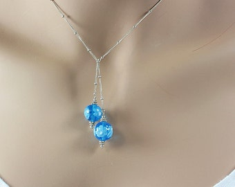 HANDMADE jewelry necklace: Lariat Necklace
