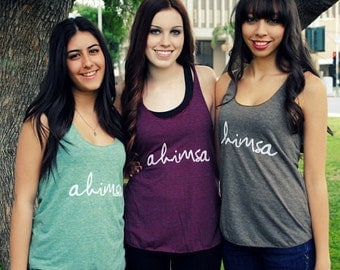 Ahimsa Ladies Tank