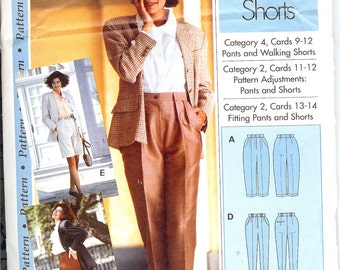 Pattern Sewing Step By Step  Pants and Walking Shorts   ID239a