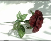 Beaded Rose (18inch) - NikasHandmade