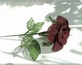 Beaded Rose (18inch) - NikasHandmade