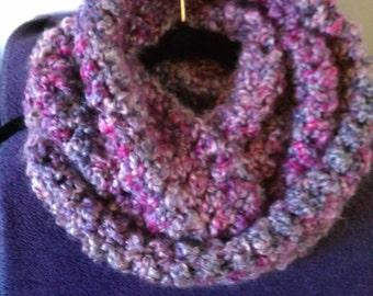 Handmade Crochet Infinity Cowl