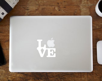 Love MacBook Decal