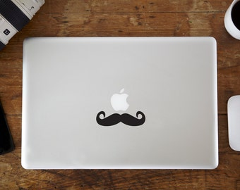 Moustache MacBook Decal