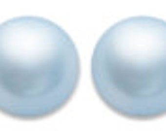 Swarovski Pearl 5810, Crystal Light Blue 10mm 50pc  #001302