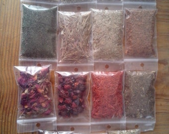 15/20/25 Ritual Herb Starter Set for Wicca Pagan Witch