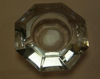 Small Hexagon Crystal Ashtray