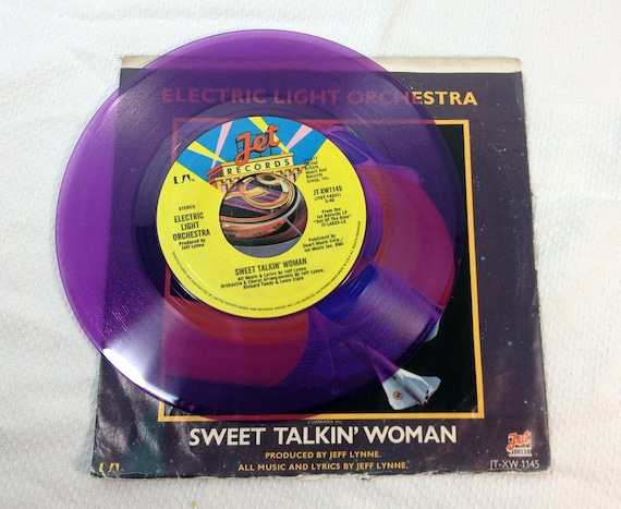 Elo Sweet Talkin Woman Vinyl Record 1978