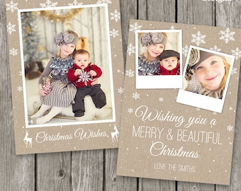 Christmas Card Template for Photographers - CC18