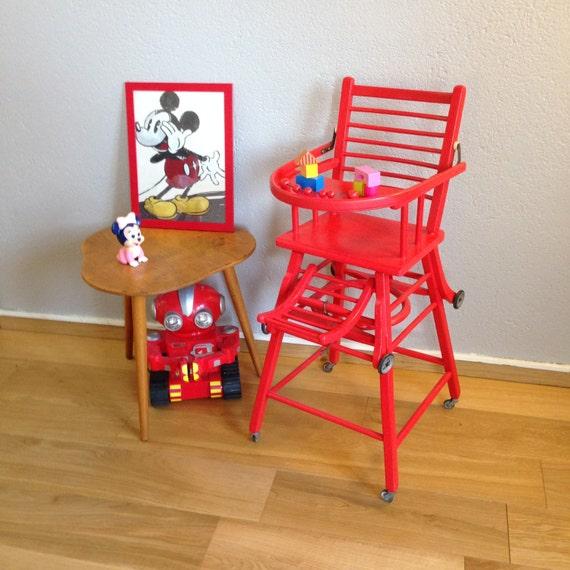 chaise haute b b ann es 50 mod le ulysse. Black Bedroom Furniture Sets. Home Design Ideas