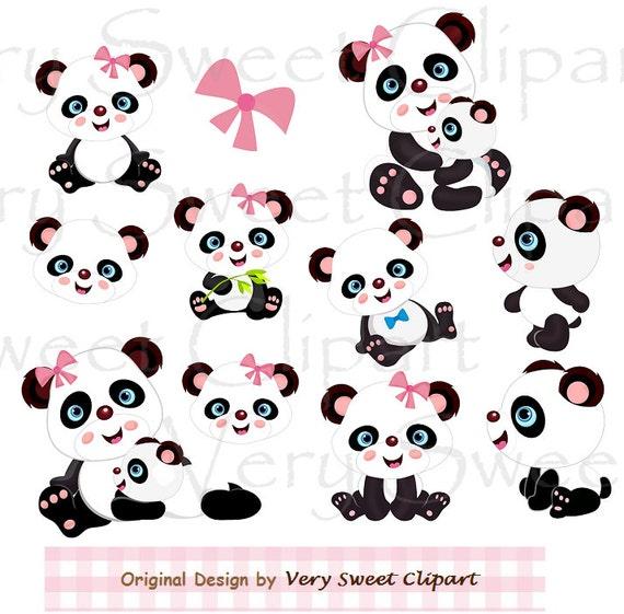 clipart panda female - photo #2