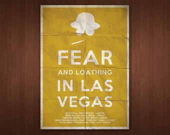 Fear and Loathing in Las Vegas Poster (Multiple Sizes)