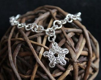 North Star Tiffany Style Bracelet
