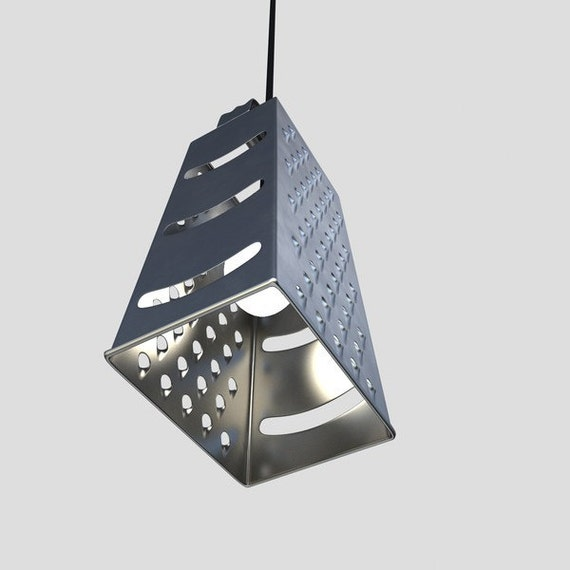 Grater Pendant Light