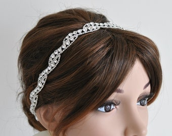 Rhinestone Headband  - T42