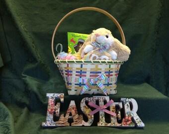Handwoven Williamsburg Easter Basket
