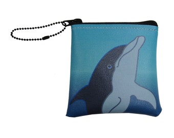 Little Packrats DOLPHIN Change Purse