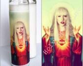 Saint Gaga Prayer Candle // Lady // Valentines Day Gift Idea // Gay Pride