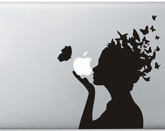 Laptop decal – Laptop Sticker – Macbook Pro decal – Macbook Air decal – Car window – Hipster - Mother Nature